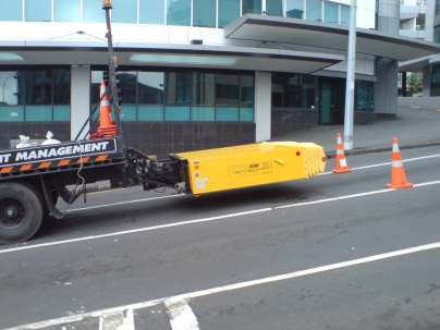 "Crash Truck ""Attenuator"""